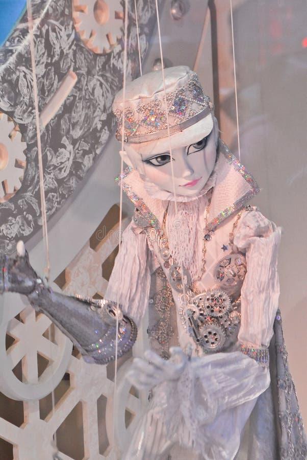 παράθυρο μαριονετών s macy παρ&omi στοκ φωτογραφία με δικαίωμα ελεύθερης χρήσης