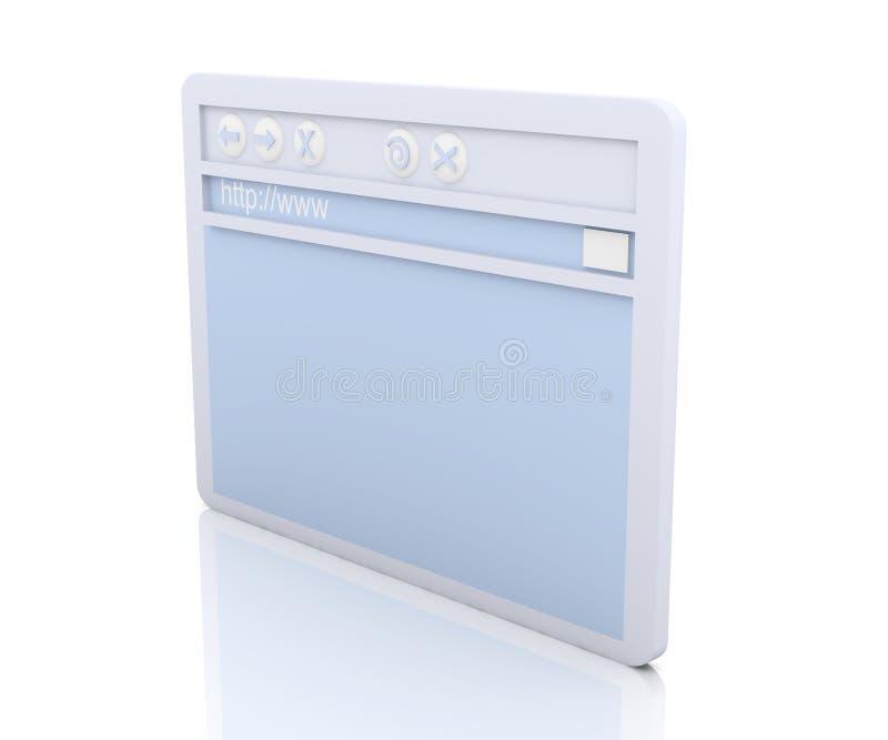 παράθυρο ξεφυλλιστή απεικόνιση αποθεμάτων