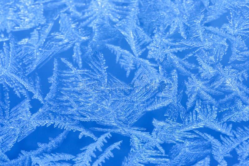 παράθυρο παγετού στοκ εικόνες