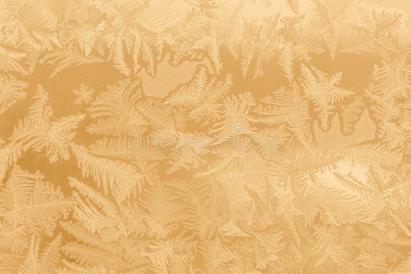 παράθυρο προτύπων παγετού στοκ εικόνες