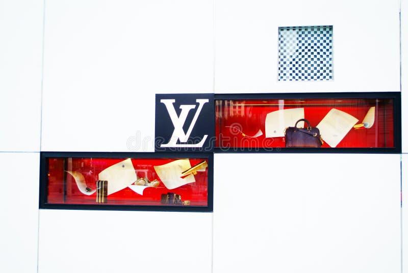 Παράθυρο της LV στοκ εικόνες με δικαίωμα ελεύθερης χρήσης