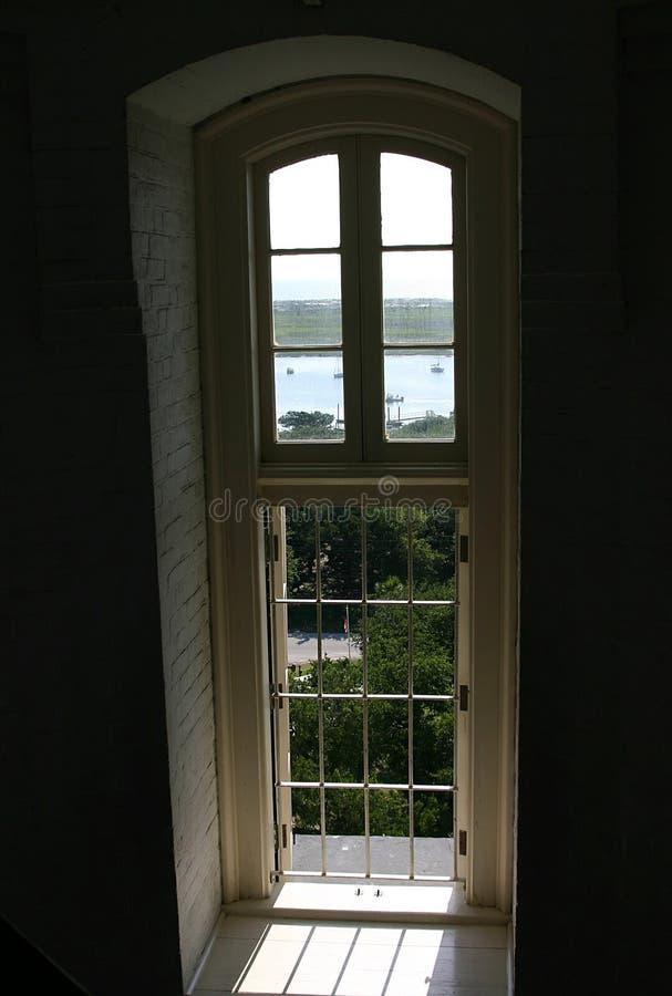 παράθυρο φάρων στοκ εικόνες