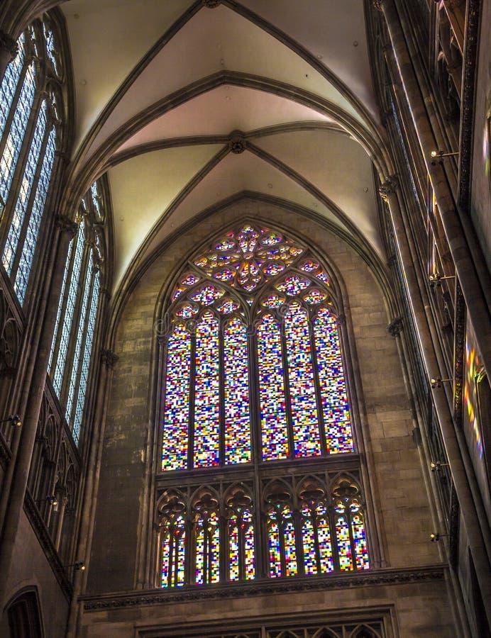 Παράθυρο Richter του καθεδρικού ναού της Κολωνίας στοκ εικόνα με δικαίωμα ελεύθερης χρήσης