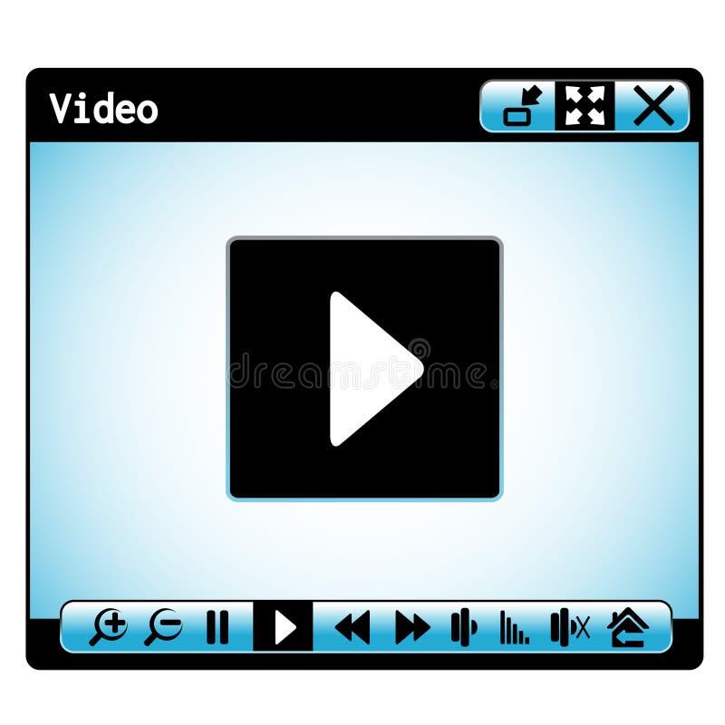 Παράθυρο video Ιστού απεικόνιση αποθεμάτων