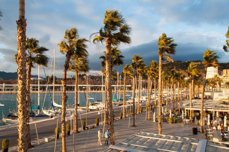 Παράκτια πόλη της Μάλαγας, Κόστα ντελ Σολ, Ανδαλουσία, Ισπανία στοκ φωτογραφία με δικαίωμα ελεύθερης χρήσης