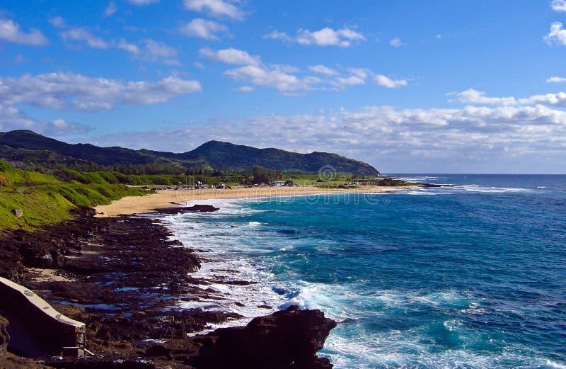 παράκτια όψη της Χαβάης oahu στοκ φωτογραφία με δικαίωμα ελεύθερης χρήσης