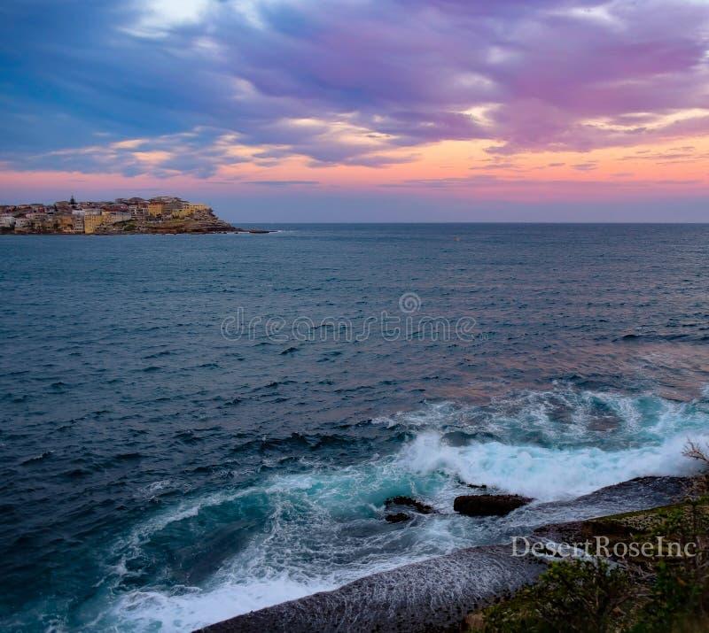 παράκτιο ηλιοβασίλεμα στοκ φωτογραφίες με δικαίωμα ελεύθερης χρήσης