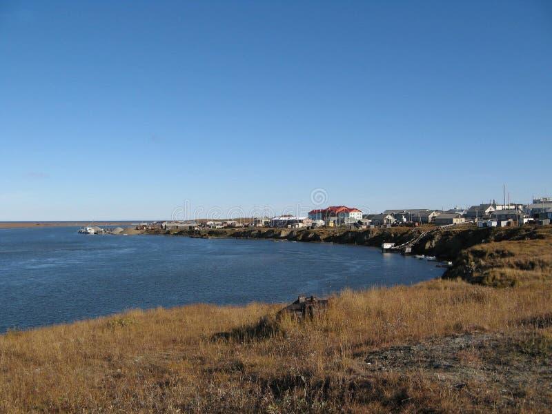 Παράκτιο τοπίο της tundra τακτοποίησης στοκ φωτογραφία με δικαίωμα ελεύθερης χρήσης