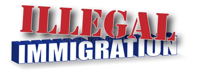 Παράνομη μετανάστευση ελεύθερη απεικόνιση δικαιώματος