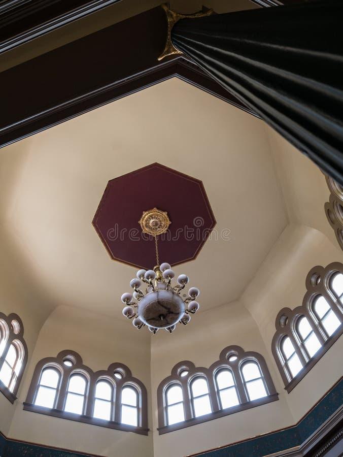 Παράρτημα κρατικού Capitol της Νεβάδας, εσωτερικός θόλος στοκ εικόνες