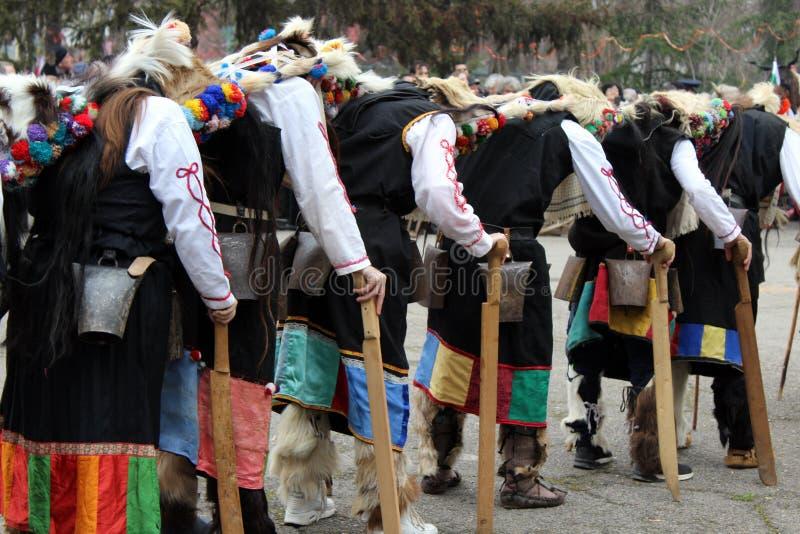 Παράδοση Kukeri στοκ φωτογραφία με δικαίωμα ελεύθερης χρήσης
