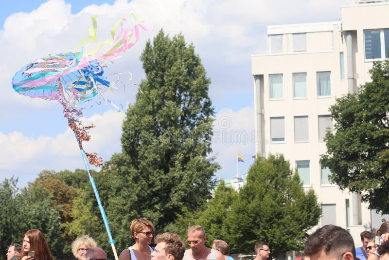 Παρέλαση 2018 επίδειξη του Αμβούργο, Γερμανία LGBTIQ της CSD στοκ φωτογραφίες με δικαίωμα ελεύθερης χρήσης
