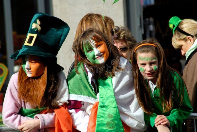 παρέλαση Πάτρικ s ST 4 ημερών στοκ εικόνες