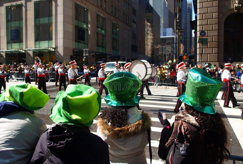 παρέλαση Πάτρικ ST ημέρας στοκ φωτογραφία