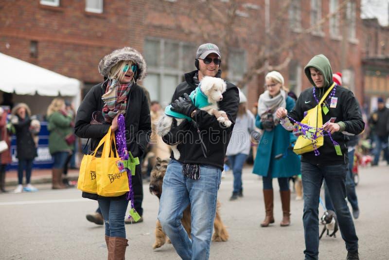 Παρέλαση της Pet Beggin' στοκ εικόνα