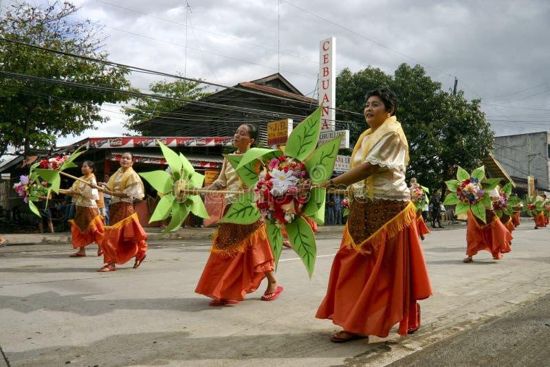 παρέλαση 2 de saulug tanjay στοκ φωτογραφία
