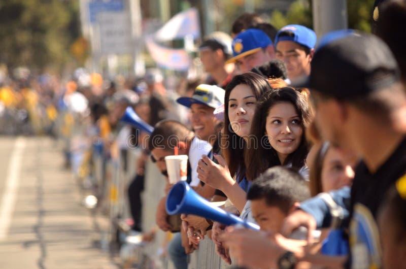 Παρέλαση νίκης πολεμιστών Χρυσής Πολιτείας στοκ εικόνες