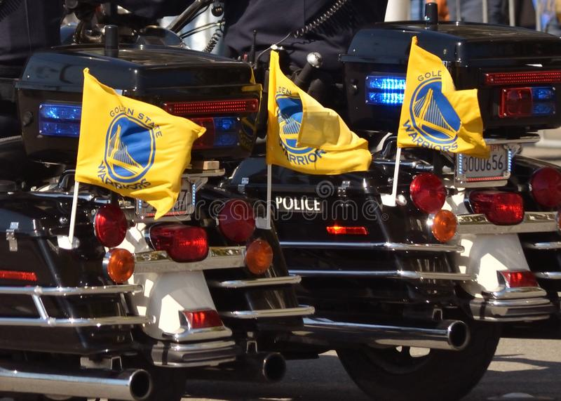 Παρέλαση νίκης πολεμιστών Χρυσής Πολιτείας στοκ εικόνες με δικαίωμα ελεύθερης χρήσης