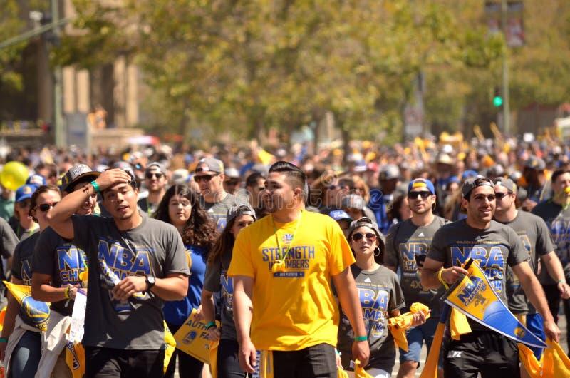 Παρέλαση νίκης πολεμιστών Χρυσής Πολιτείας στοκ εικόνα