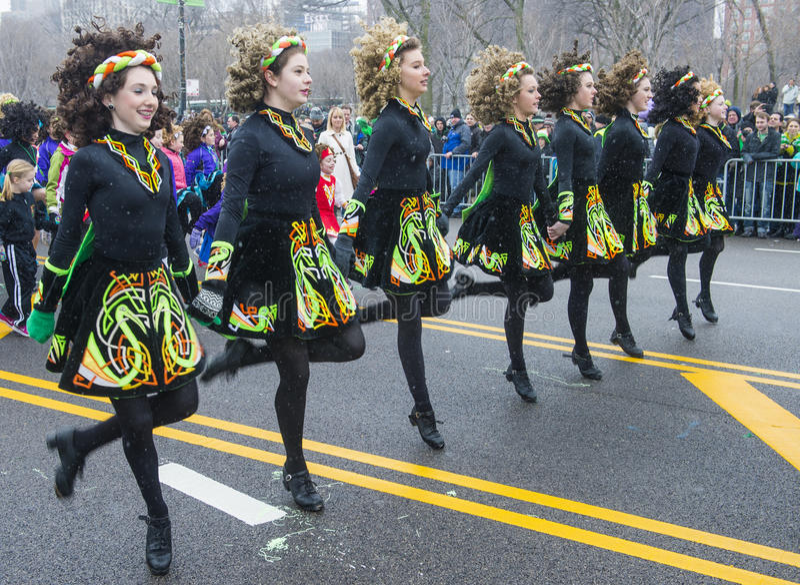 Παρέλαση του Σικάγου Άγιος Πάτρικ στοκ φωτογραφίες