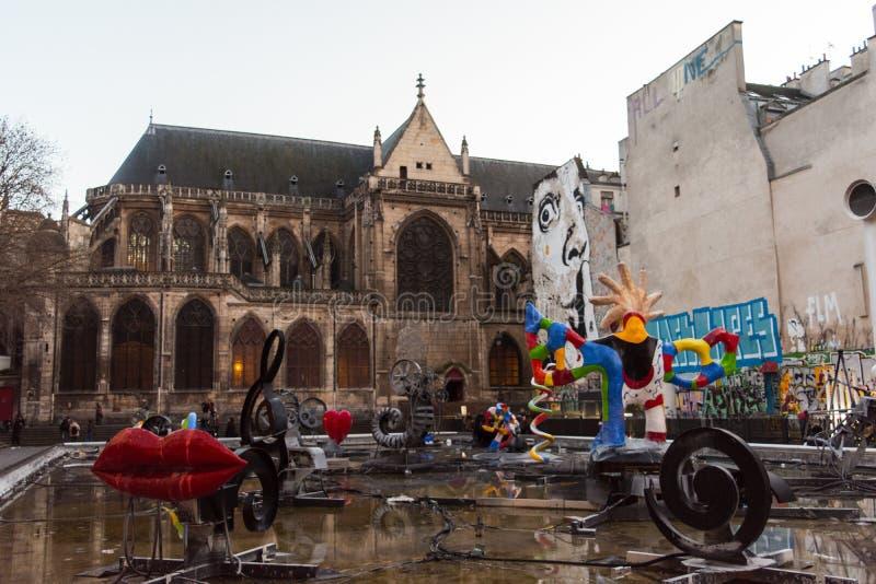 Παρίσι, Γαλλία - τον Απρίλιο του 2018 στοκ εικόνες με δικαίωμα ελεύθερης χρήσης