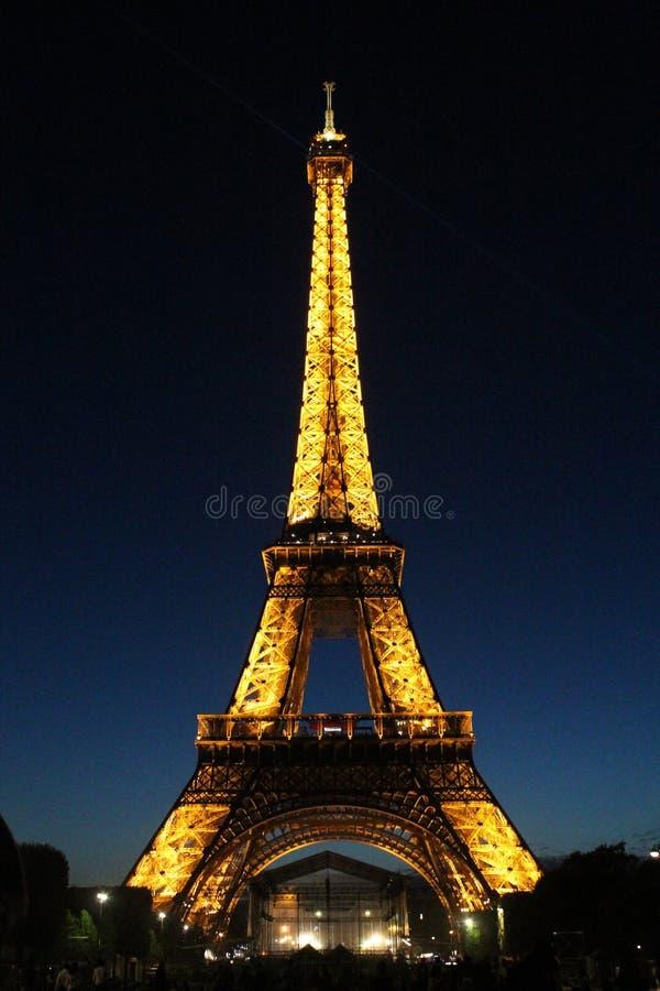 Παρίσι, Γαλλία και ο πύργος του Άιφελ στοκ εικόνες