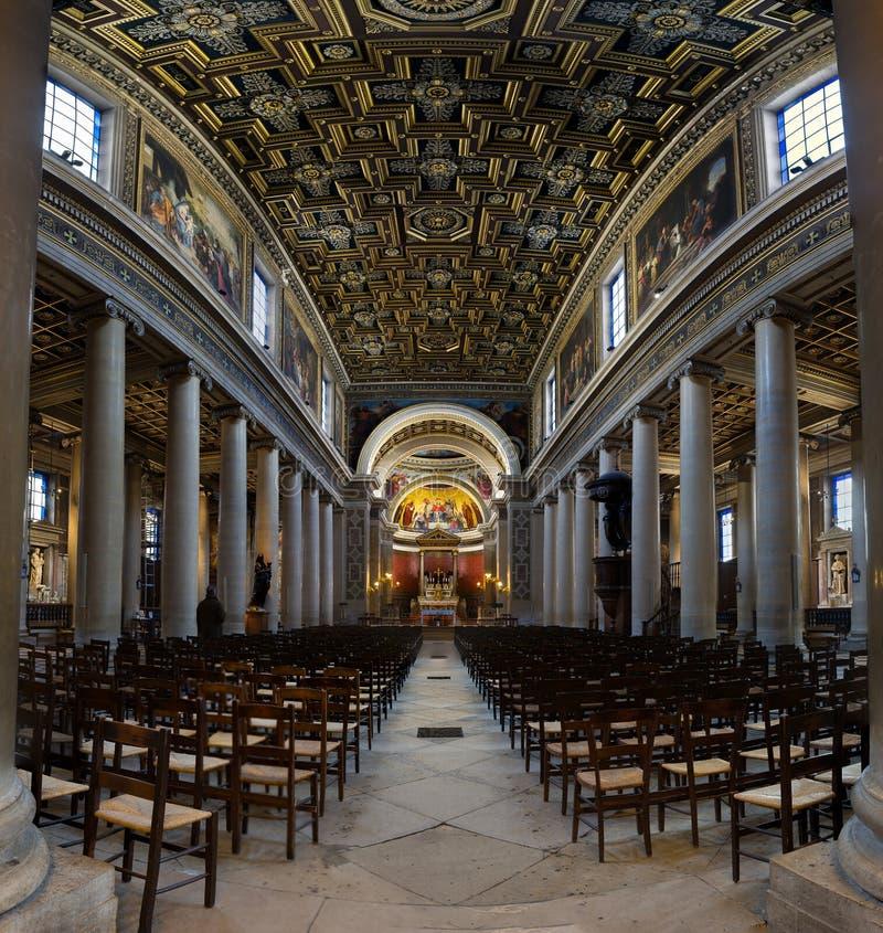 Παρίσι - εκκλησία της κυρίας Loreto μας στοκ εικόνες