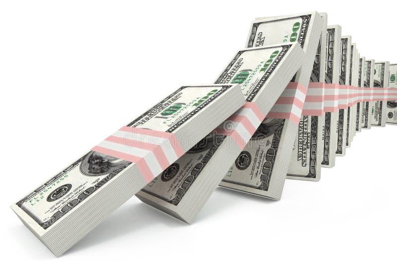 παραβίαση σταθερότητας δολαρίων ελεύθερη απεικόνιση δικαιώματος