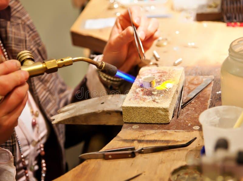 παραγωγή κοσμήματος στοκ εικόνες