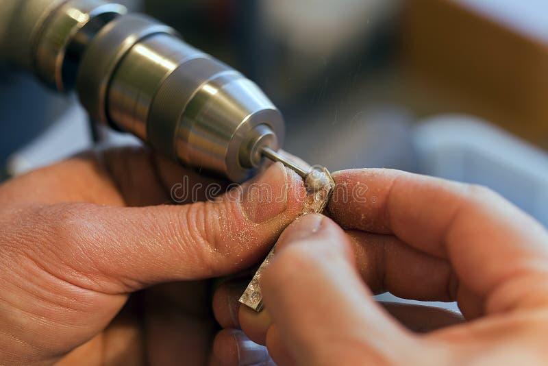 Παραγωγή κοσμήματος στοκ φωτογραφία με δικαίωμα ελεύθερης χρήσης