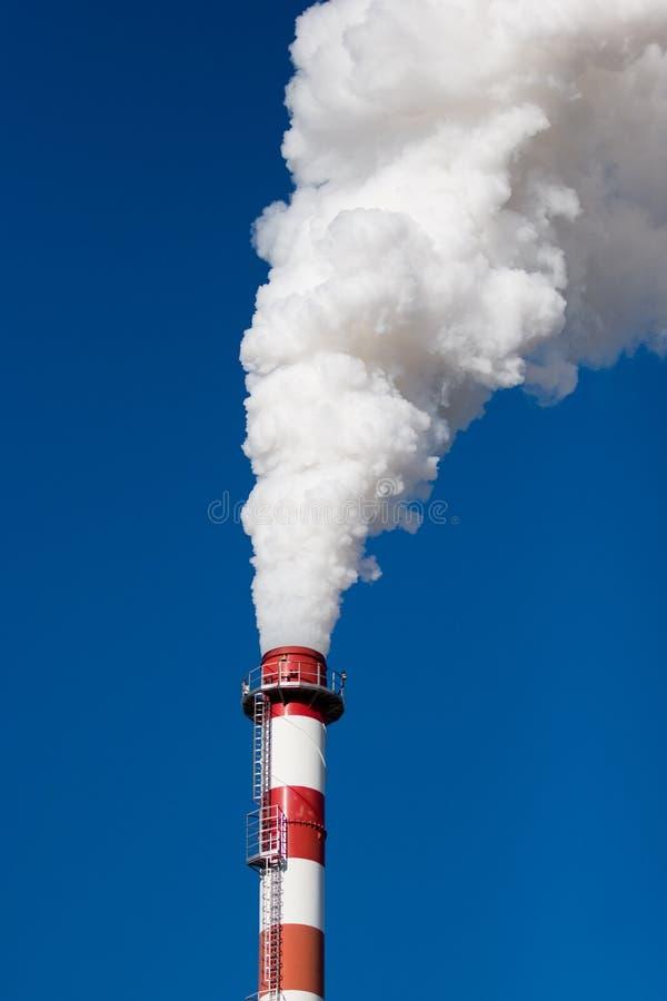 παραγωγή ρύπανσης στοκ φωτογραφία