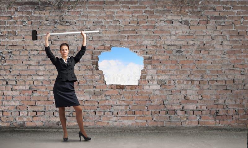 Παραγωγή του τρόπου σας στην επιχείρηση Μικτά μέσα στοκ φωτογραφία με δικαίωμα ελεύθερης χρήσης