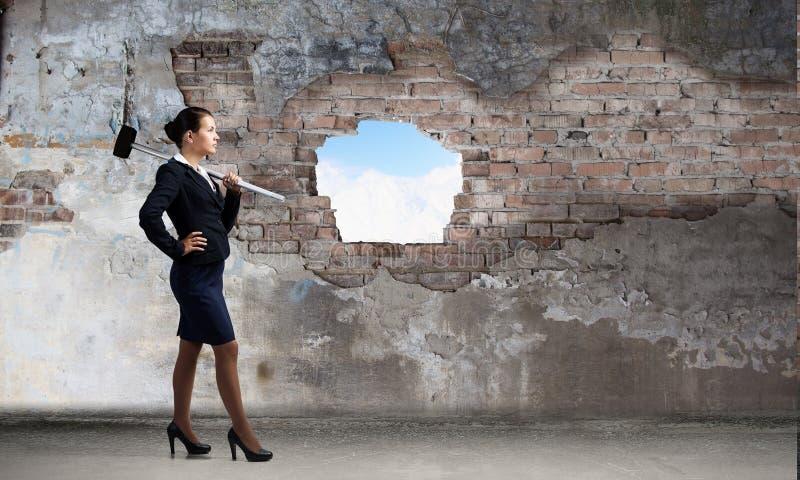 Παραγωγή του τρόπου σας στην επιχείρηση Μικτά μέσα στοκ εικόνα με δικαίωμα ελεύθερης χρήσης