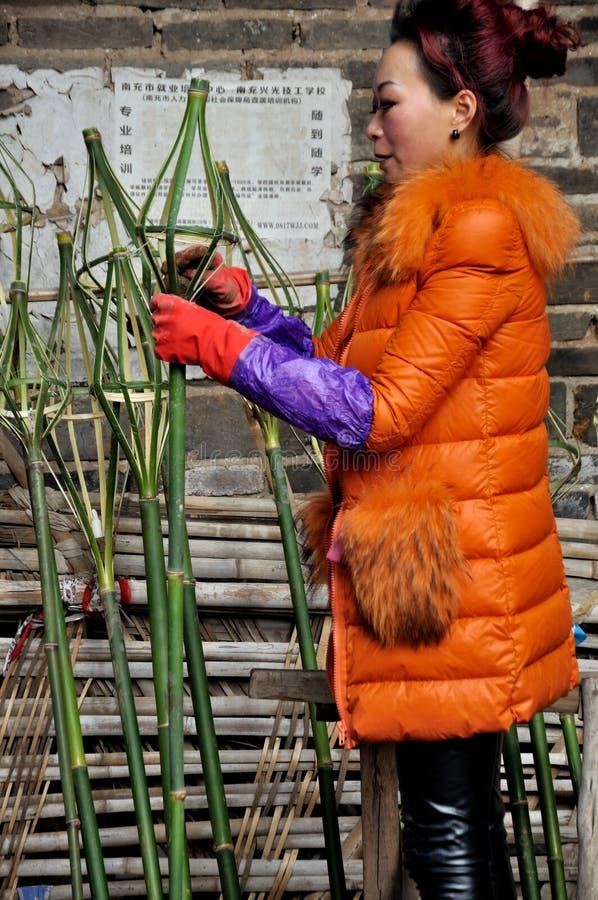 Παραγωγή του φαναριού φρύνων στο φεστιβάλ φρύνων στοκ φωτογραφίες με δικαίωμα ελεύθερης χρήσης