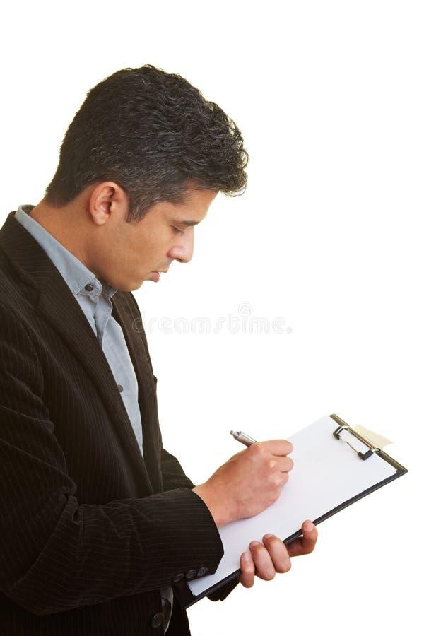 παραγωγή των σημειώσεων στοκ φωτογραφία με δικαίωμα ελεύθερης χρήσης
