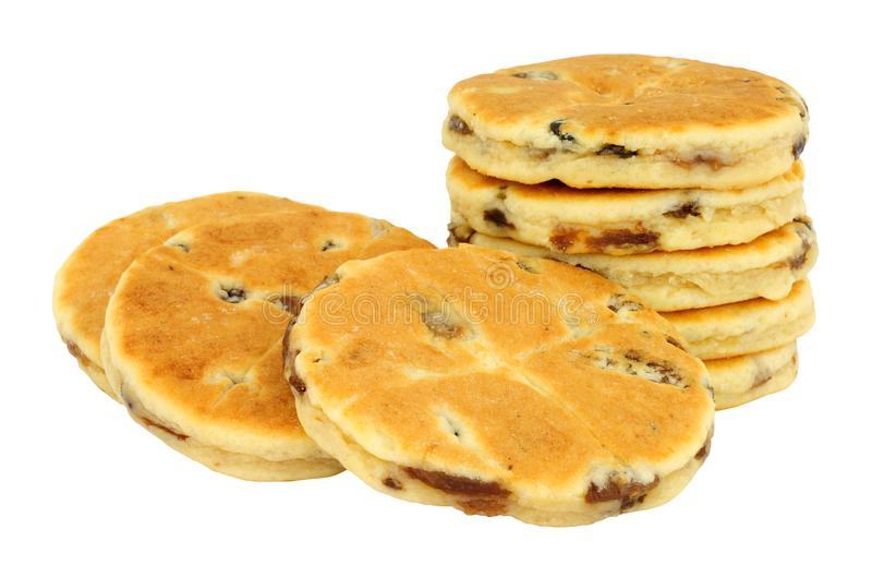 Παραδοσιακά ουαλλέζικα κέικ στοκ εικόνα με δικαίωμα ελεύθερης χρήσης