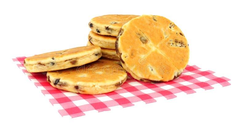 Παραδοσιακά ουαλλέζικα κέικ στοκ φωτογραφία