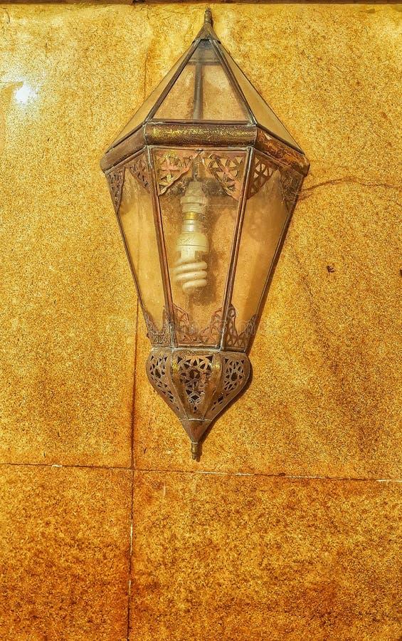 Παραδοσιακά φανάρι του Μαρόκου στοκ φωτογραφίες