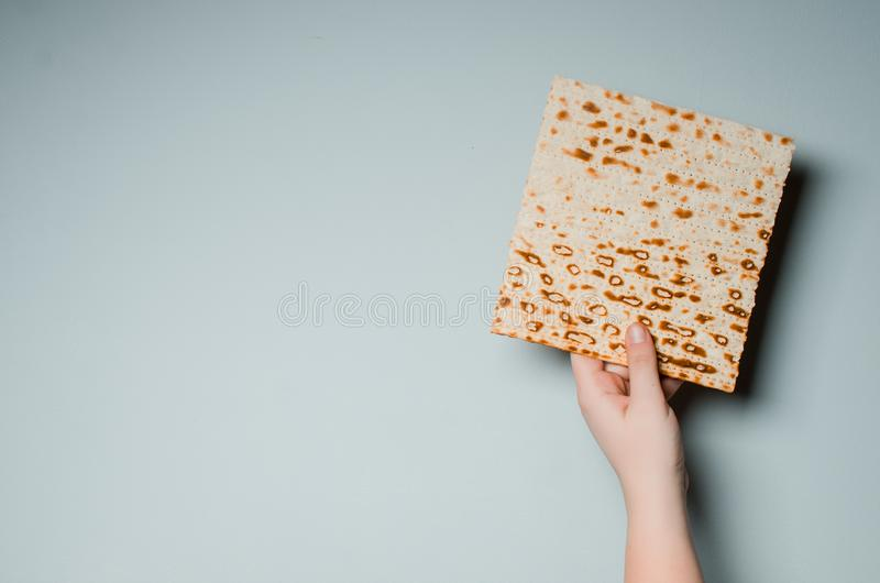Παραδοσιακές εβραϊκές διακοπές Pesach Παραδοσιακά εβραϊκά εορταστικά FO στοκ φωτογραφίες