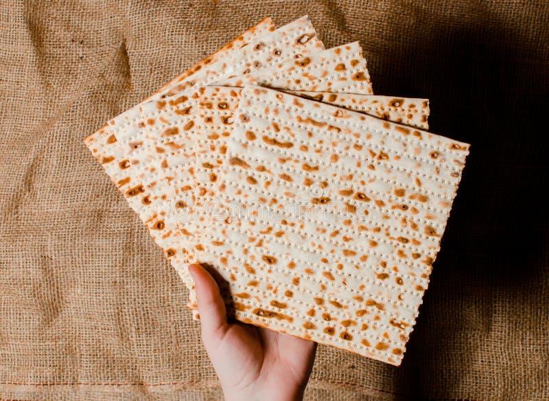 Παραδοσιακές εβραϊκές διακοπές Pesach Παραδοσιακά εβραϊκά εορταστικά FO στοκ εικόνα
