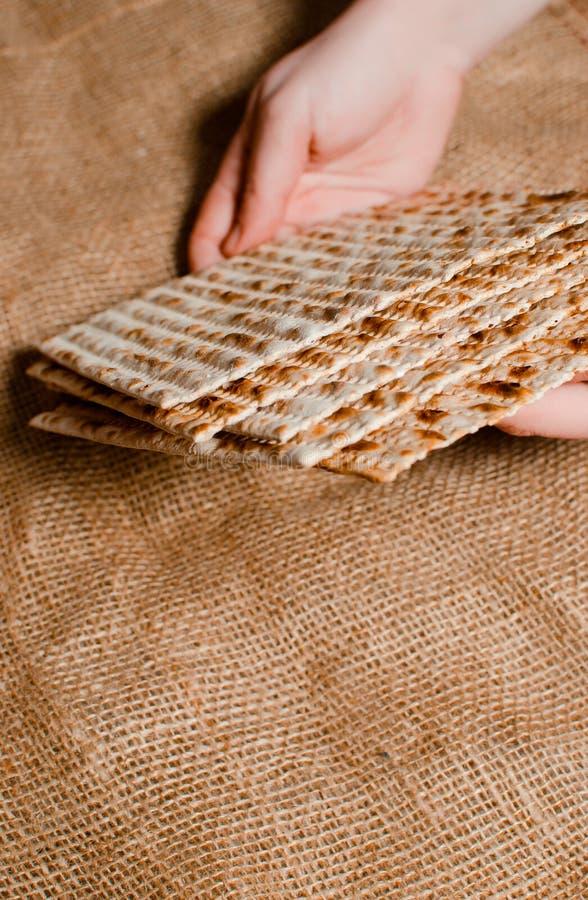 Παραδοσιακές εβραϊκές διακοπές Pesach Παραδοσιακά εβραϊκά εορταστικά FO στοκ εικόνες