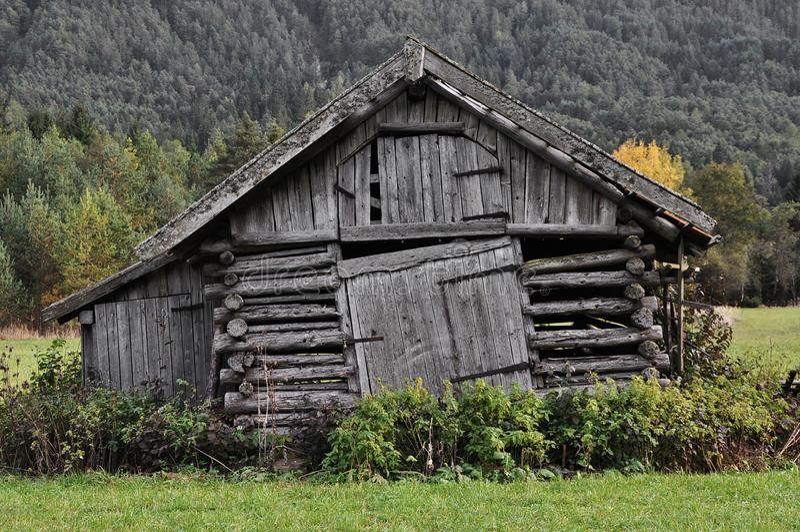 Παραδοσιακή γεωργική αρχιτεκτονική στοκ φωτογραφία