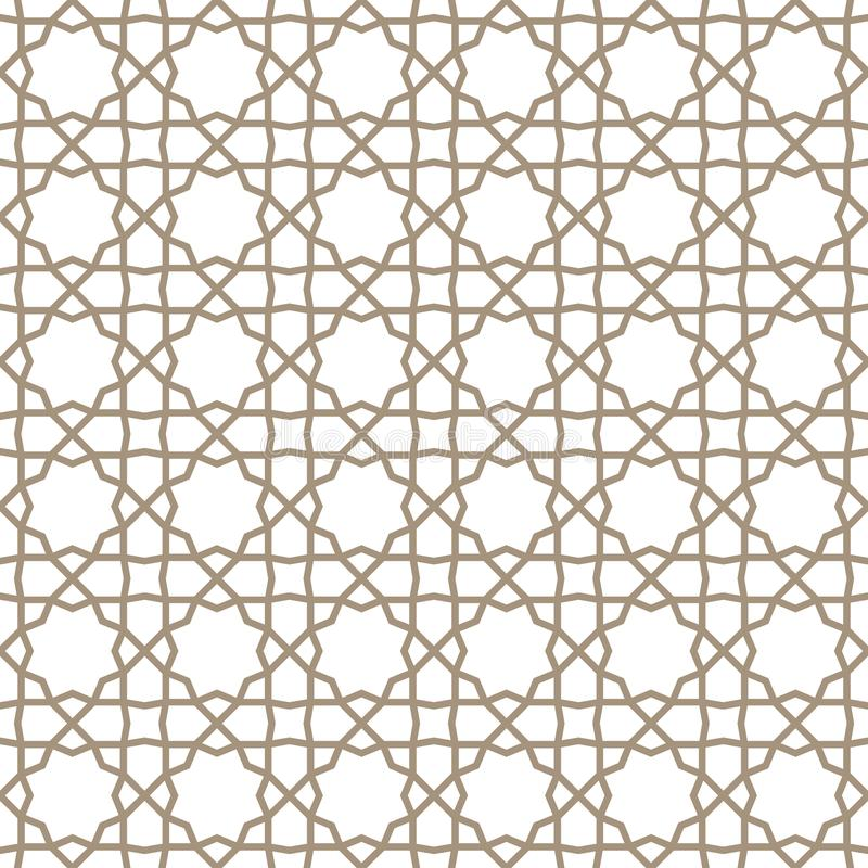 Παραδοσιακή ισλαμική διακόσμηση διανυσματική απεικόνιση