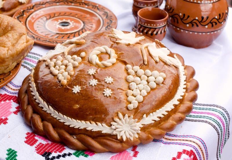 Παραδοσιακή μολδαβική φραντζόλα. στοκ φωτογραφίες