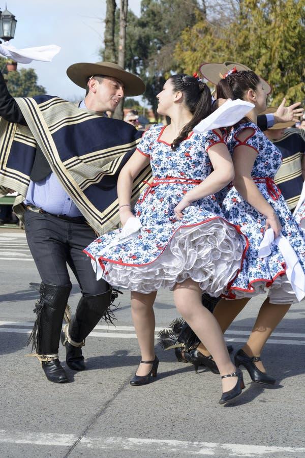 Παραδοσιακή της Χιλής λαογραφία στοκ εικόνα με δικαίωμα ελεύθερης χρήσης