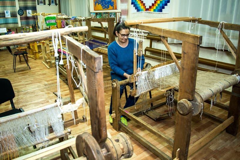 Παραδοσιακός αγροτικός αργαλειός στοκ φωτογραφία με δικαίωμα ελεύθερης χρήσης