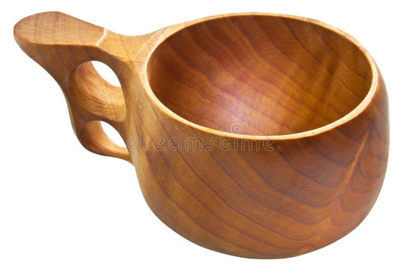 παραδοσιακός ξύλινος kuksa φ&l στοκ εικόνες με δικαίωμα ελεύθερης χρήσης
