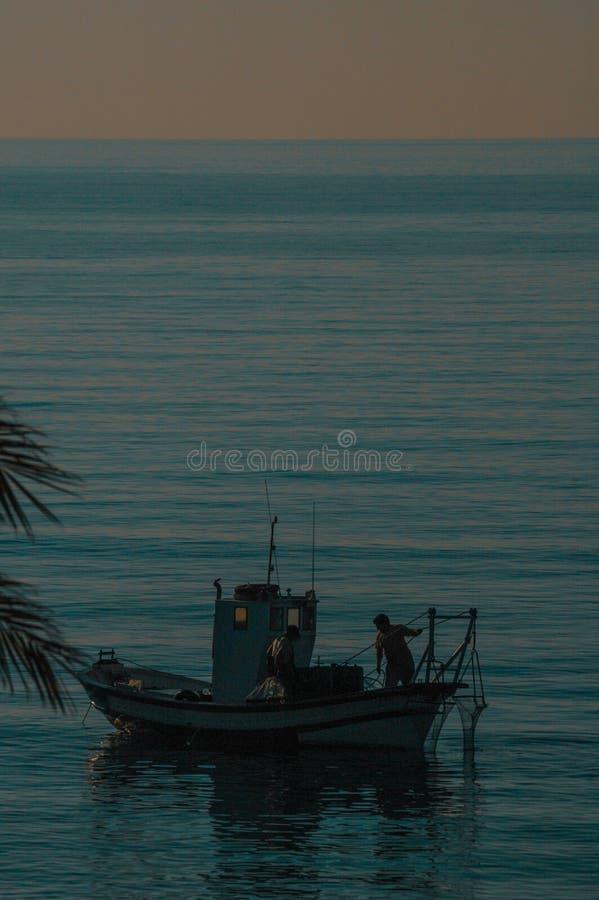 Παραδοσιακό αλιευτικό σκάφος στη Μεσόγειο στοκ φωτογραφία με δικαίωμα ελεύθερης χρήσης
