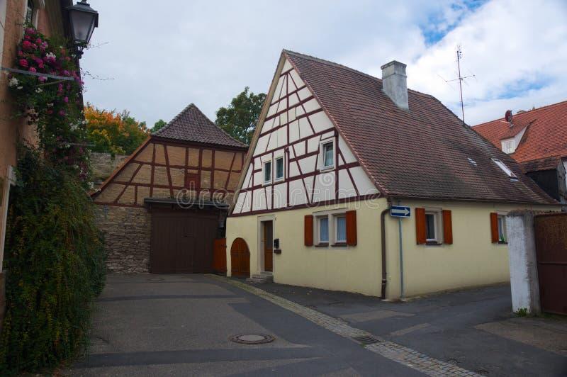 Παραδοσιακό γερμανικό σπίτι στοκ εικόνα