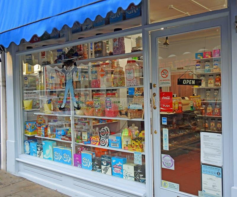 Παραδοσιακό γλυκό κατάστημα στοκ εικόνες